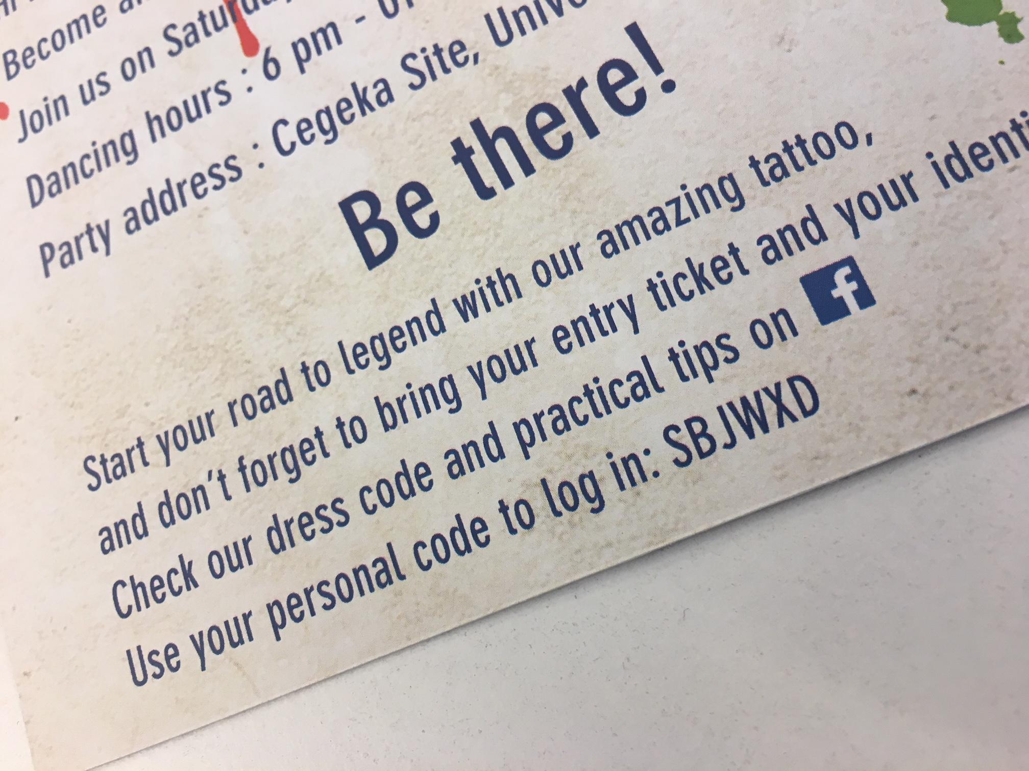 persoonlijke code