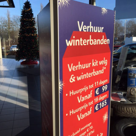 Allround Printing - POS:Shop communicatie