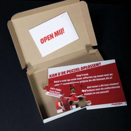 Digitaal drukwerk - Huisstijl & administratie